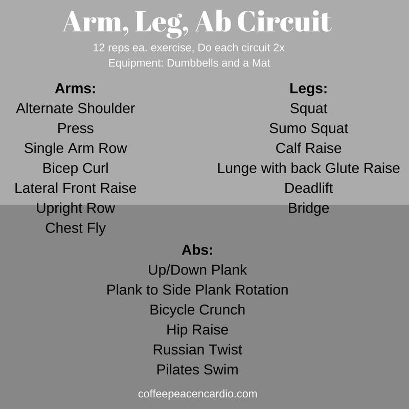 Arm, Leg, Ab Circuit