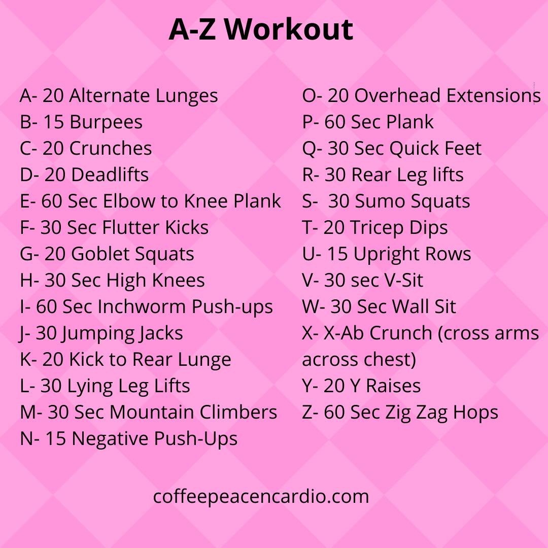 A-Z Workout